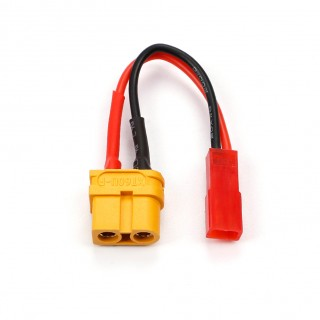 Amass XT60U Male Plug To JST Connector Charging Adapter