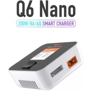 ISDT Q6 Nano Lipo Battery Charger 200W White - XT60