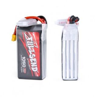 iFlight FULLSEND 4S 1050mAh 120C 14.8V Lipo Battery - XT30