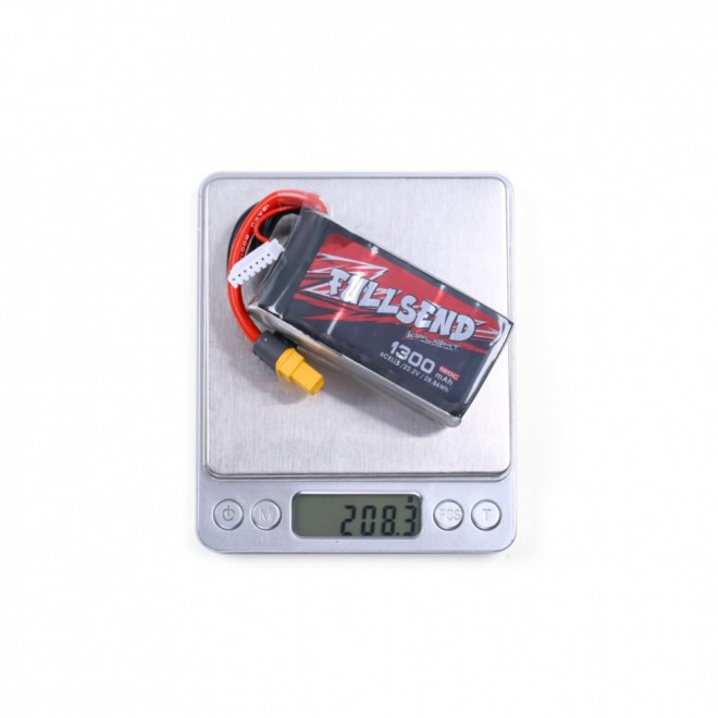 iFlight FULLSEND 6S 1300mAh 120C Lipo Battery - XT60