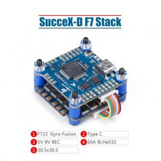 iFlight SucceX-D F7 V2.1 Stack (F7+60A ESC)
