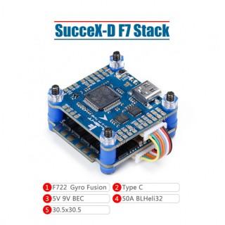 iFlight SucceX-D F7 V2.1 Stack (F7+50A ESC)
