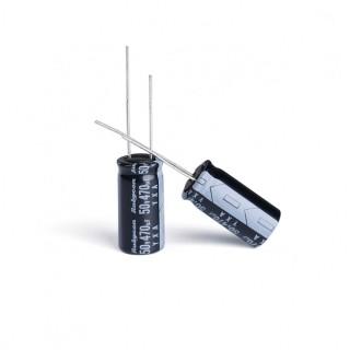 Rubycon 50v 470uf 10x20mm Capacitors (10pcs)