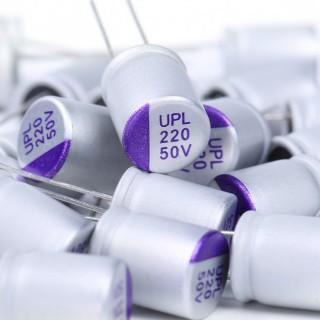 UNICON UPL 50V 220UF Capacitors (5pcs)