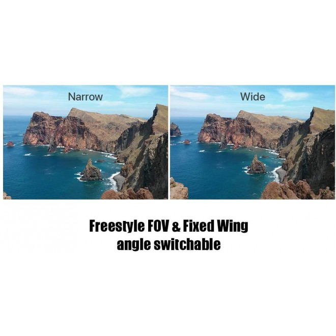 Foxeer Toothless Micro 1200TVL 1.7mm PAL NTSC 4:3 16:9 Switchable FPV Camera