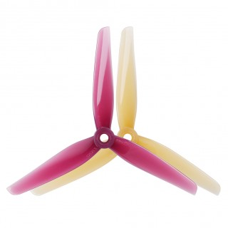 HQProp Ethix P3 Peanut Butter & Jelly 5.1inch Tri-Blade Propellers (3sets/6pairs)